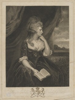 Mary Isabella Manners (née Somerset), Duchess of Rutland, by John Keyse Sherwin, published by  Robert Wilkinson, after  Sir Joshua Reynolds - NPG D39956