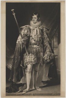 John Henry Manners, 5th Duke of Rutland, by John Lucas, after  George Sanders (Saunders) - NPG D39958