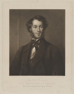 Charles Cecil John Manners, 6th Duke of Rutland, by George Raphael Ward, printed by  Dixon & Ross, published by  Samuel Ridge, after  Sir Francis Grant - NPG D39959