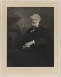 John James Robert Manners, 7th Duke of Rutland, by Henry Dixon & Son, after  Walter William Ouless - NPG D39962