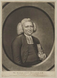 John Collett Ryland, by Richard Houston, printed for and published by  Carington Bowles, after  John Russell - NPG D39965