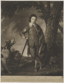 Unknown print inscribed 'Ld Titchfield' (William Henry Cavendish-Scott-Bentinck, 4th Duke of Portland), by Unknown artist - NPG D40386