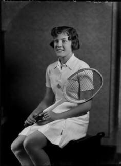 Jean Nicoll (Mrs Bostock), by Bassano Ltd - NPG x154843