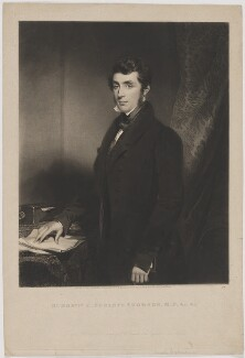 Charles Poulett-Thomson, Baron Sydenham, by Samuel William Reynolds, published by  William Walker, after  Samuel William Reynolds Jr - NPG D40333