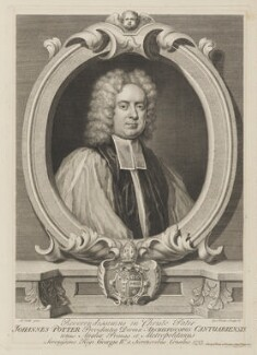 John Potter, by and sold by George Vertue, after  Michael Dahl - NPG D40390