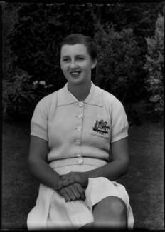 Nancy Wynne Bolton, by Bassano Ltd - NPG x154856