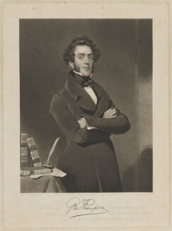 George Thompson, by Charles Turner, published by and after  George Evans - NPG D40423