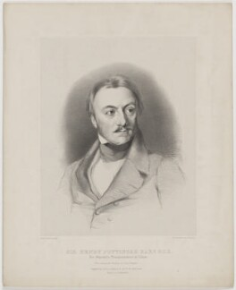 Sir Henry Pottinger, by Lowes Cato Dickinson, printed by  Charles Joseph Hullmandel, published by  Joseph Dickinson, after  Samuel Laurence - NPG D40395