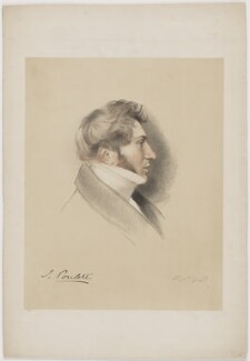 John Poulett, 5th Earl Poulett, by Richard James Lane - NPG D40396