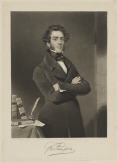 George Thompson, by Charles Turner, published by and after  George Evans - NPG D40424