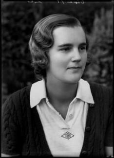 Dorothy Andrus (Mrs Burke), by Bassano Ltd - NPG x154862