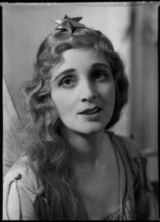 Marjorie Eyre (née Eyre-Parker) as Iolanthe in 'Iolanthe', by Bassano Ltd, 27 June 1938 - NPG x154876 - © National Portrait Gallery, London