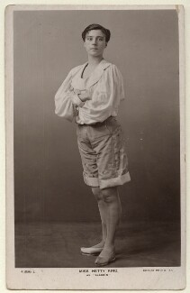 Hetty King (Winifred Emms) as Aladdin, published by Rotary Photographic Co Ltd - NPG Ax160069