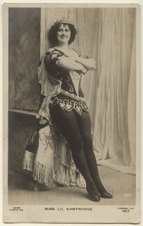 Lillian ('Lil') Hawthorne, by The Hana Studios Ltd, published by  Rapid Photo Co - NPG Ax160073