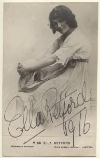Ella Retford (Elinor Maud Dawe, née Flanagan), published by Frank Dobson of Liverpool - NPG Ax160074