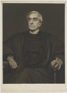 William Hepworth Thompson, by Sir Hubert von Herkomer - NPG D40430