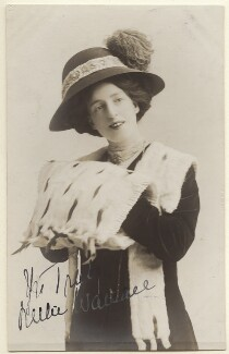 Nellie Wallace, by Unknown photographer - NPG Ax160076