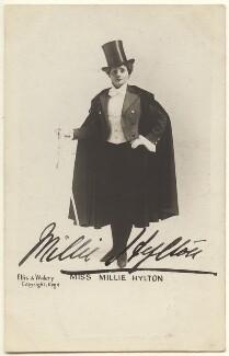 Millie Hylton, by Alfred Ellis & Walery - NPG Ax160078