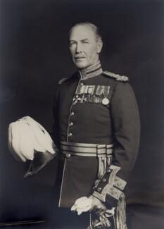 Sir Alan Gordon Cunningham, by Walter Stoneman - NPG x166927