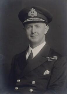 Andrew Browne Cunningham, Viscount Cunningham, by Walter Stoneman - NPG x166928