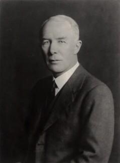 Sir George Cunningham, by Walter Stoneman - NPG x166929