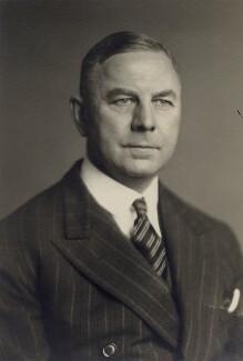 Sir Graham Cunningham, by Walter Stoneman - NPG x166930
