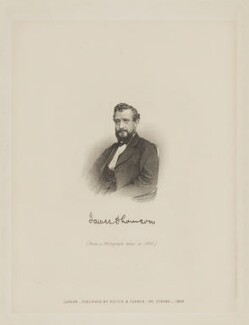 James Thomson (Thompson), published by Reeves & Turner, after  Unknown artist - NPG D40439