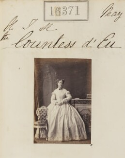 Isabel, Princess Imperial of Brazil, by Camille Silvy - NPG Ax64285