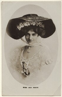 Ada Reeve, by Unknown photographer - NPG Ax160083