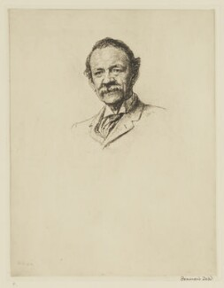 Sir Joseph John Thomson, by Francis Dodd - NPG D40442