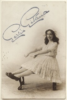 Gertie Gitana (née Gertrude Mary Astbury), published by The Hudson Studios Ltd - NPG Ax160088