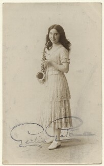 Gertie Gitana (née Gertrude Mary Astbury), published by The Hudson Studios Ltd - NPG Ax160089