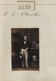 William Dougal Christie, by Camille Silvy - NPG Ax55514
