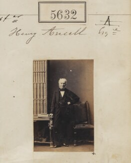 Henry Ancell, by Camille Silvy - NPG Ax55587