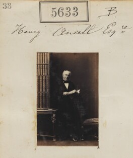 Henry Ancell, by Camille Silvy, 3 September 1861 - NPG Ax55588 - © National Portrait Gallery, London