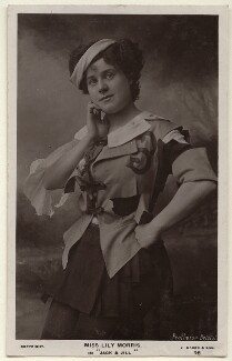 Lily Morris (née Lilles Mary Crosby) in 'Jack & Jill', by Protherge, published by  J. Baker & Son - NPG Ax160092