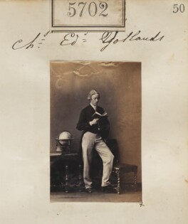Charles Edward Jollands, by Camille Silvy - NPG Ax55657