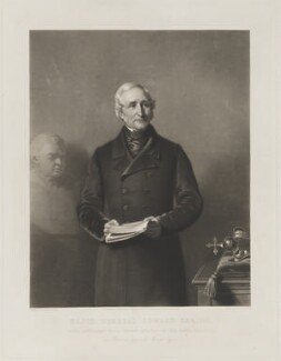 Sir Edward Sabine, by James Scott, published by  Henry Graves & Co, after  Stephen Pearce - NPG D39977