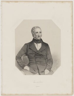 Sir Edward Sabine, by Thomas Herbert Maguire, printed by  M & N Hanhart - NPG D39978