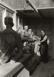 Henry Moore, by Ida Kar - NPG x134700