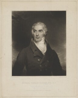 Michael Thomas Sadler, by Thomas Goff Lupton, published by  Lucas Houghton, published by  J. Hick, after  William Robinson - NPG D39986