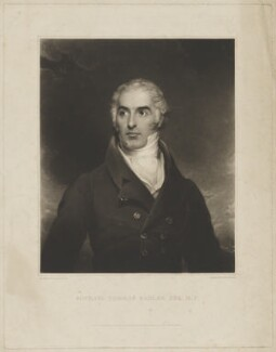 Michael Thomas Sadler, by Thomas Goff Lupton, published by  Lucas Houghton, published by  J. Hick, after  William Robinson - NPG D39987