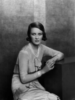 Sylvia (née Hawkes), Lady Ashley, by Paul Tanqueray, early 1930s - NPG x180082 - © estate of Paul Tanqueray
