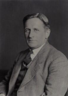 William Edward Curtis, by Walter Stoneman - NPG x166945