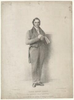James Henry Lewis, by J.M. Johnson, after  Thomas Charles Wageman - NPG D38594