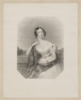 Charlotte Fanny (née Portman), Countess Poulett, by William Henry Mote, after  James Holmes - NPG D40398