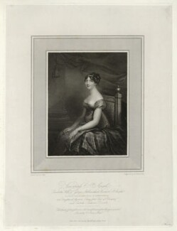 Charlotte Ashburnham (née Percy), Countess of Ashburnham when Viscountess St Asaph, by Niccolò Schiavonetti, published by and after  Anne Mee (née Foldsone) - NPG D40002