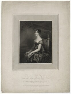Charlotte Ashburnham (née Percy), Countess of Ashburnham when Viscountess St Asaph, by Niccolò Schiavonetti, published by and after  Anne Mee (née Foldsone) - NPG D40003