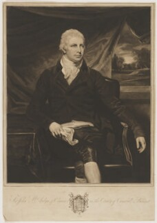 Sir John St Aubyn, 5th Bt, by William Whiston Barney, after  John Opie - NPG D40004