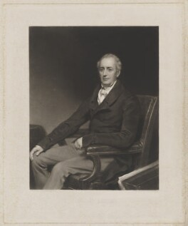 John Clark Powell, by John Charles Bromley, after  Thomas Phillips - NPG D40456